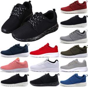 Nike Roshe run Tanjun Londra 1.0 3.0 Diseñadores de mujer Zapatillas de marca para hombre Zapatillas Negro blanco Rojo Londres tanjun Hombres para mujer Zapatos ocasionales