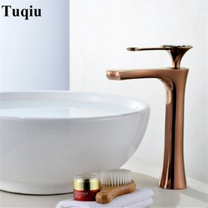 Bathroom Basin Faucets Solid Brass Single Handle Deck Mounted Sink Mixer Tap Crystal Top Rose gold Gold Chrome Free Shipping