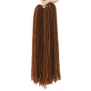 extensions de cheveux soeur Locks crochet Tresses locs Svelte droite Déesse Faux Locs Crochet cheveux synthétiques Soeur Locs Crochet cheveux Tresses