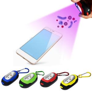 Portable UV Stick disinfezione della lampada UV-C ha portato sterilizzatore luce UV Mini Sanitizer portatile Keychain Light viaggio bacchetta germicida per Mask Phone