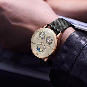 DOM Men's Watches Top Brand Luxury Automatic Mechanical Men Sport Watch Waterproof Men Wirstwatch Tourbillon Reloj M-1270GK-5M