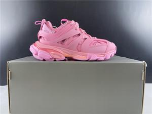avec la boîte 2020 Femmes piste Chaussures de sport rose pour les femmes papa chaussures de sport Chaussures Euro Taille 35-40
