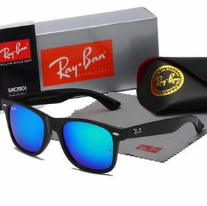 Hot di alta qualità occhiali da sole AviatorRayBan Pilot Vintage Marca Banda protezione UV400 delle donne degli uomini di Ben Wayfarer Occhiali con la scatola
