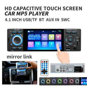 Radio Car 1DIN JSD-3001 autoradio 4 polegadas touch screen Áudio Espelho Stereo Link Bluetooth Rear View Camera USB aux Jogador