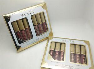 Goccia trucco Stila Eye For Elegance Limited Edition ombretto liquido Set Shimmer Glitter glow 6 colori ombretto Travel Cosmetics 1set = 6pcs