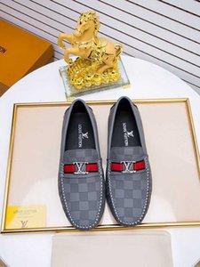 Causal orilla suave de moda casual y cómodos zapatos de cuero de moda Doug 010701