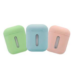 Q8L Tws sem fio Bluetooth Headset Earplug 8D fone de ouvido estéreo com carga Iluminação colorida Tipo C para telefones inteligentes