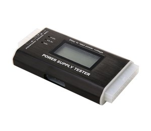 Dijital LCD PC Bilgisayar PC Güç Kaynağı Tester 20/24 Pim 4 PSU SATA HDD ATX BTX ITX SATA HD tester Güç Kaynağı