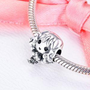 CKK Cute Girl Charms 925 Original Fit Pandora Bracelet Sterling Silver Charm Beads for Jewelry Making Bead kralen Berloque