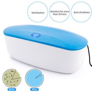 (20) LED의 UVC 살균기 박스 네일 도구 액세서리 건조 온도 살균기 손톱 장비 화장품 살균기 기계