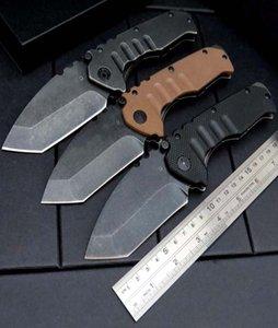 NO3 Medford All Steel Griff Folding Messer im Freien kampierende faltende Messer-Selbstverteidigung Jagdtaktik EDC-Werkzeug-Messer-freies Verschiffen