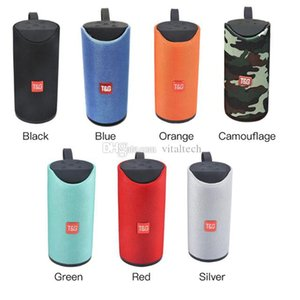 TG113 Bluetooth Wireless Speakers Subwoofers Handsfree Call Profile Stereo Bass Support TF USB Card AUX Line In Hi-Fi 1200mah charge 3