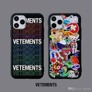 Luxury Off vêtements Письмо Конструктор Телефон Чехол для iPhone 6 6S 7 8 Plus Hot Рельефный задняя крышка для iPhone X XR XS 11 Pro Max