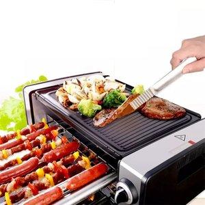 جديد وصول المنزلية الكهربائية شوى حفر HSK-039C دخان آلة الشواء الخبز الكهربائية لعموم تيبانياكي في الهواء الطلق الطبخ الأكل بات