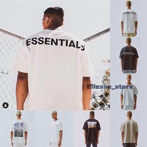 FFOG 19SS zufälligen Männer T-Shirt FEAR AUS GOTT ESSENTIALS BOXY FOTO Aufmaß Lose Tees Mans-Frauen-Qualitäts-Baumwoll-T-Shirt