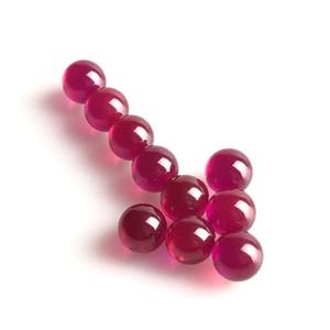 Новый 6 мм рубиновый шар Терповый жемчуг цвет изменен красный черный красочный рубиновый Терповый топ Жемчуг для стеклянных курительных водопроводных труб