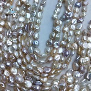 colore misto Keshi Pearl Strand Reborn Pearl incagliano la collana di perle barocche