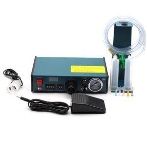 983A Профессиональный Precise Digital Auto Клей Диспенсер паяльной пасты Жидкость контроллер Клей Dropper Fluid Dispenser Инструменты машины