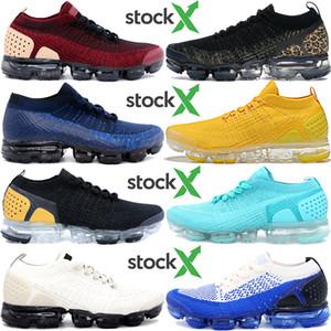 Nouvelle mouche 2.0 équipe pack veste chaussures de course rouge tournée en or jaune beige être vrai Knit 1.0 hommes femmes chaussures de sport styliste