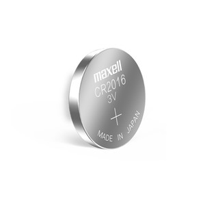 Maxell CR2016 3V ثاني أكسيد منغنيز زر الليثيوم بطارية السيارة الأصلي مفتاح التحكم عن بعد بطارية 1 بطاقة 5