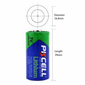 baterías 12pcs PKCELL 3V CR123A batería CR123 123A CR17345 KL23a VL123A DL123A 5018LC EL123AP Li-MnO2 litio linterna LED
