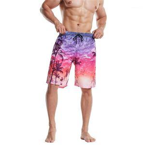 Pants Fashion Boys Beachwears Plus Size Summer Mens Designer Shorts Contrast Color Drawstring Male Knee Length