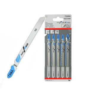 Metal Kesme 132 mM Uzunluk için ucuz Testere Blades 5adet T318A HCS Kavisli Ekstra Uzun Dekupaj