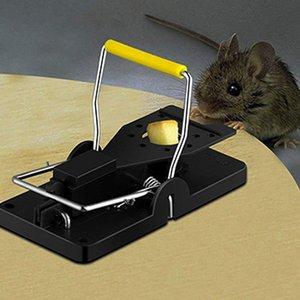 Mousetrap Reusable Mouse Trap Rat Killer Control Easy Trap Mice Pest Catching Catcher Plastic Mousetrap Pest Reject
