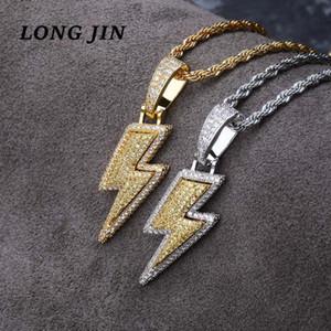Hot American Style popolare del pendente Set zircone personalità di Hip Hop di modo punk accessori della collana ZK40