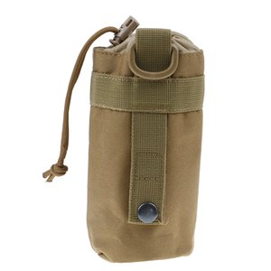 High Quality Tactical Water Bottle Pouch Military Molle System Kettle Bag Camping Hiking Travel Survival Kits Holder