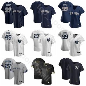 2020 Baseball 2 Derek Jeter Jersey 3 Babe Ruth 7 Mickey Mantle Lou Gehrig Joe DiMaggio Mariano Rivera Nome personalizzato Numero Uomo Bambini
