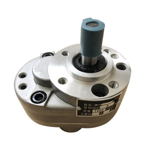 Hydraulic gear oil pump CB-B4 CB-B6 CB-B10 aluminum alloy low pressure lubrication pump hydraulic system of machine tools