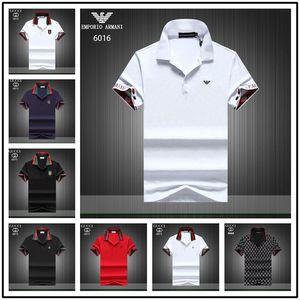 2020 Herren Polos T Shirts Coole Männer Frauen Plus Size T Shirts O Ansatz Baumwolle Kurzarm Sommer-Qualitäts-Business-Polo-freies Verschiffen