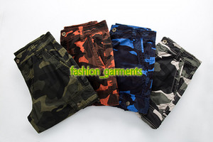 2019 Summer New Mens Fashion Tooling 5 Points Pants Mens High Quality Camouflage Shorts Mens stylist Pants Shorts Beach Pnts