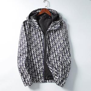 Chaquetas de diseñador de moda casual para hombre Chaqueta rompevientos Chaqueta con capucha para hombre Otoño Invierno Streetwear Chaquetas con capucha deportivas HUO16898