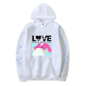 Criativa Harry Styles Men Hoodies Mulheres Branca Hoodie Oversized vestuário Harajuku Sportswear AMOR World Tour New Tops