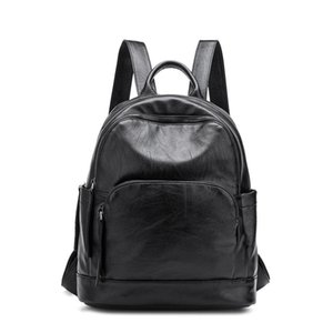 Cool2019 Shoulders Both 광저우 여성 패키지 연간 시즌 Ma'am Trend Joker Student Backpack
