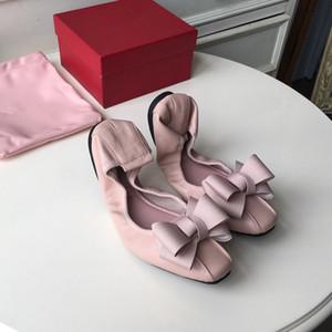 2018designer 브랜드 구두 스프링 여성 라운드 발가락이 아파트를 매칭 여성 숙녀 피셔 신발 패션 여성 사치 신발 huang190513