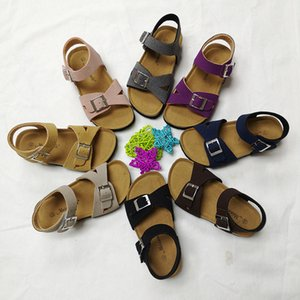 PU leather 2020 children gladiator sandals Baby Girls Flat beach kids Casual shoes T200703