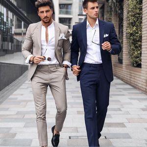 أنيق عرس البدلات الرسمية للرجال الدعاوى يتأهل الرجال قطعتين رفقاء العريس الزي العريس ملابس رسمية رخيصة