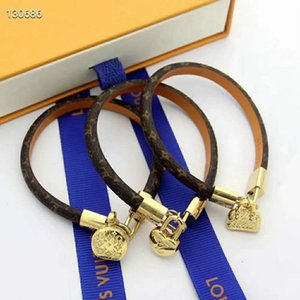 Luxury Hot Sale New Fashion Brand Jewelry Bracelets Bangles Pulseiras Leather Bracelets For Women Men Gift