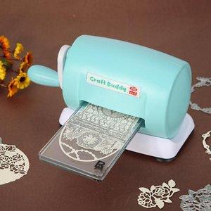 Die-Cut Machines Muore goffratura casa fai da te Scrapbooking taglierina di carta (blu)