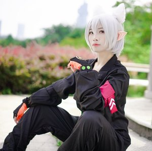 x5Glh Concave-convex world Tian Chong cosplayclothing ear Concave-convex world Ghost fox ghost Fox Wig doll Doll Tian Chong cosplayclothing