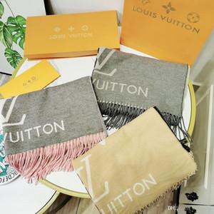 Gradient cachemire grand foulard Le plus populaire dégradé de couleurs Morandi écharpe de luxe mode dégradé série Femmes châle