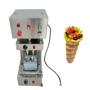 Hot Stelling Commercial Pizza Cone máquina Pizza máquina padaria cone frete grátis 2 peças moldes de pizza espiral máquina do fabricante