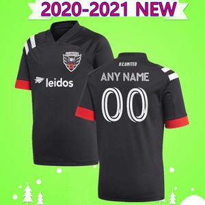 Новый 2020 2021 D. C. United футбол Джерси Руни Арриола Акоста HARKES STIEBER 20 21 DC United черно белая футбольная рубашка тайского качества
