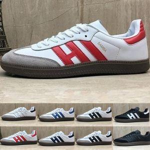 Venta grande Samba ENTRENADORES zapatos casuales para hombre del diseñador de moda de piel de gacela og Negro blanco Rosa Hombres Runner para mujer zapatos de las zapatillas de deporte