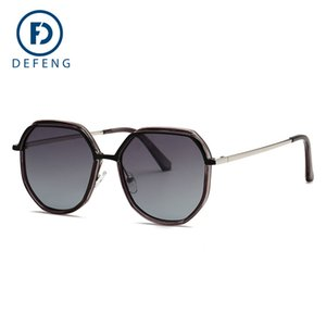 Новые цвета Прибыл Элегантный круглый провод рамы Покрытие очки очки Горячие Vintage Модные солнцезащитные очки Женщины Марка Дизайнер UV400 C19041201