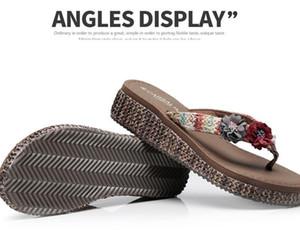 2021 zapatos de playa con suelas gruesas Flip-flops zapatillas de vacaciones verano verano moda nuevo desgaste