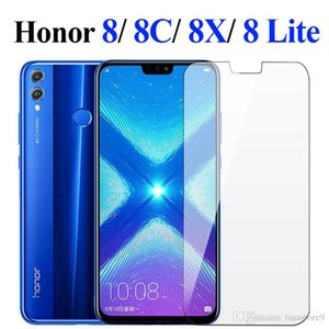 Tina Honor 8x glass screen protector for huawei honor 8x honer hono 8c 8 x Lite screen protector protective tempered glass film